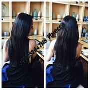 Обучение наращиванию волос на терморезинках.Семинар